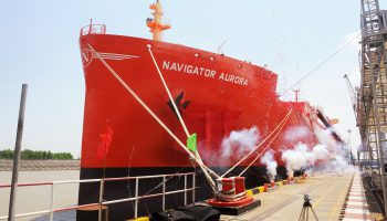 Read more about Navigator Gas and Borealis celebrated the naming ceremony of the vessel Navigator Aurora